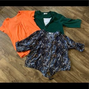 3/$14 women plus size shirts